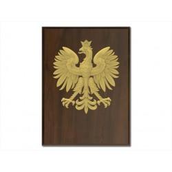 Ryngraf herb Polski złoty