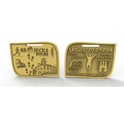 Medale biegi złoto