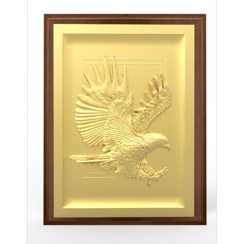Ryngraf złoty orzeł wojskowy