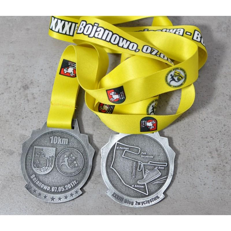Medal sportowy biegowy