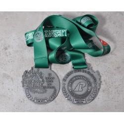 Medal sportowy - bieg leśny