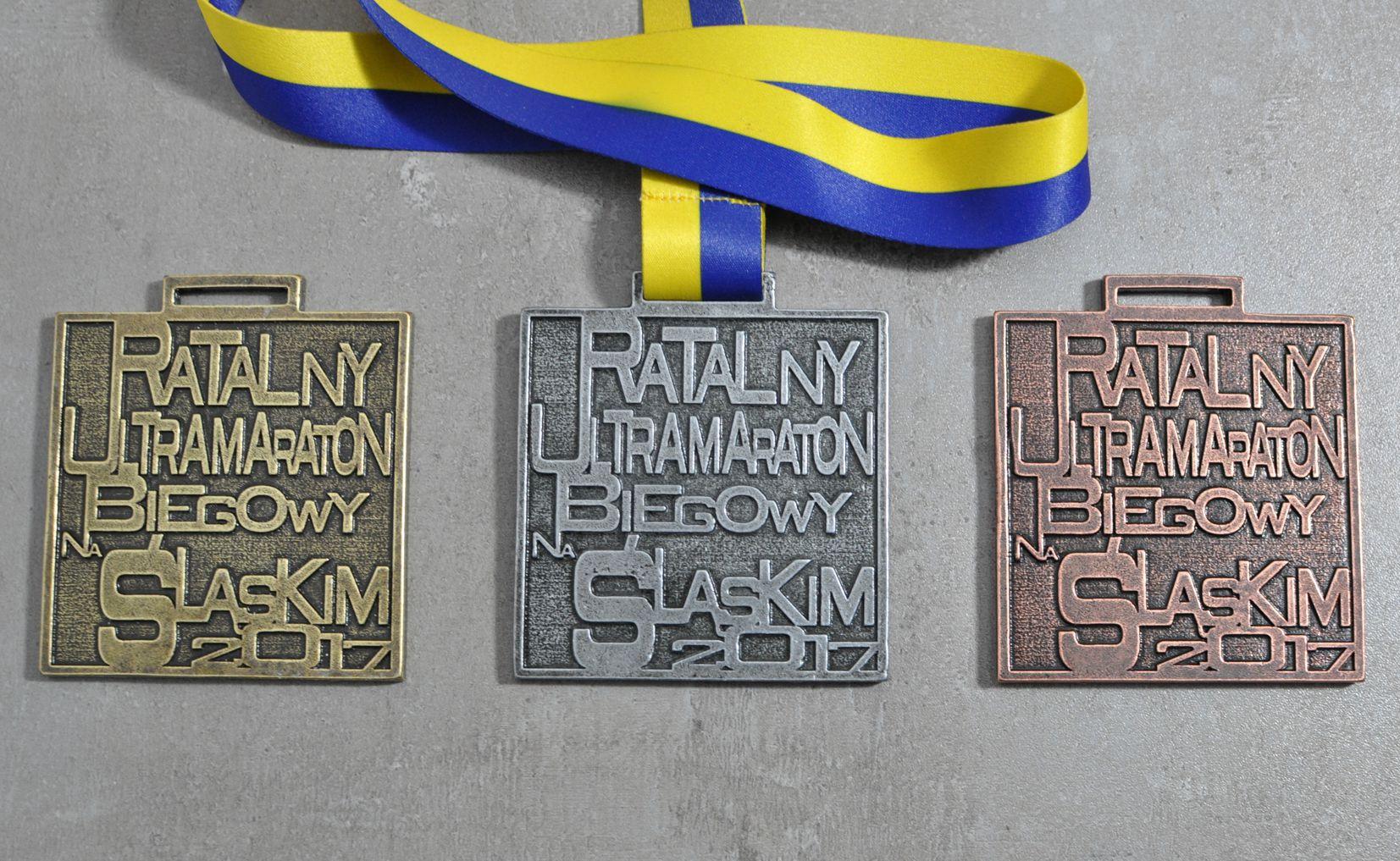 Medal odlewany biegowy Stadion Sląski