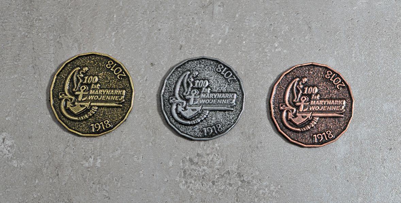 Moneta okolicznościowa 100 lat